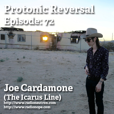 Ep072: Joe Cardamone (The Icarus Line)