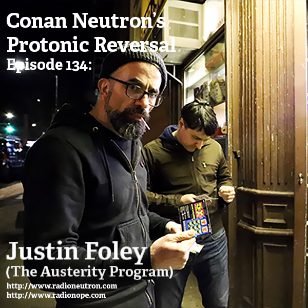 Ep134: Justin Foley (The Austerity Program)
