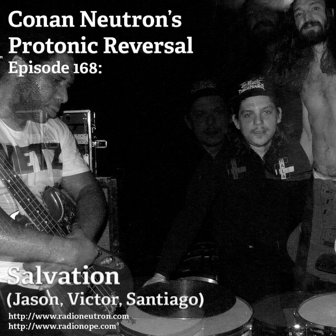 Ep168: Salvation (Jason, Santiago, Victor)