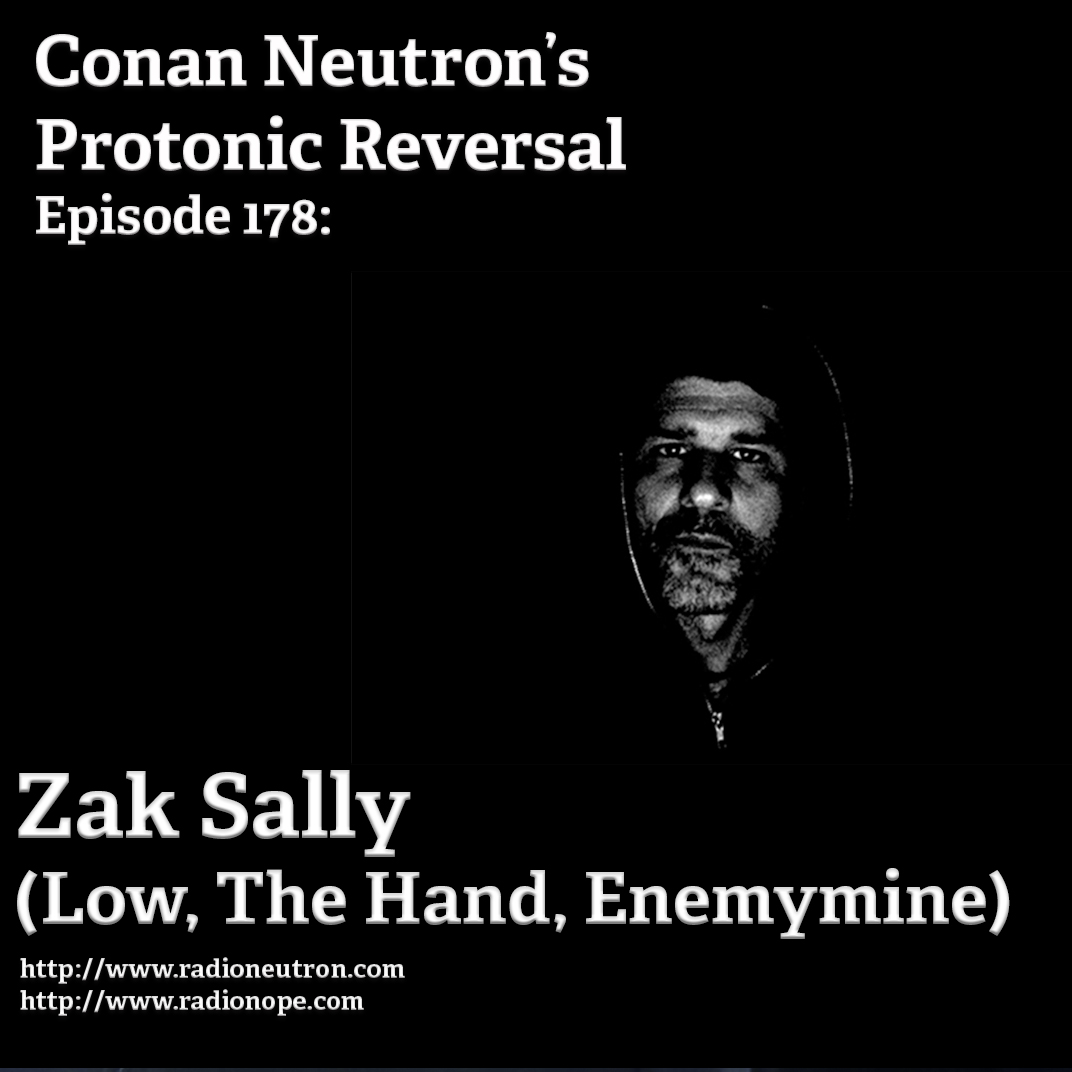 Ep178: Zak Sally (The Hand, Low, Enemymine)