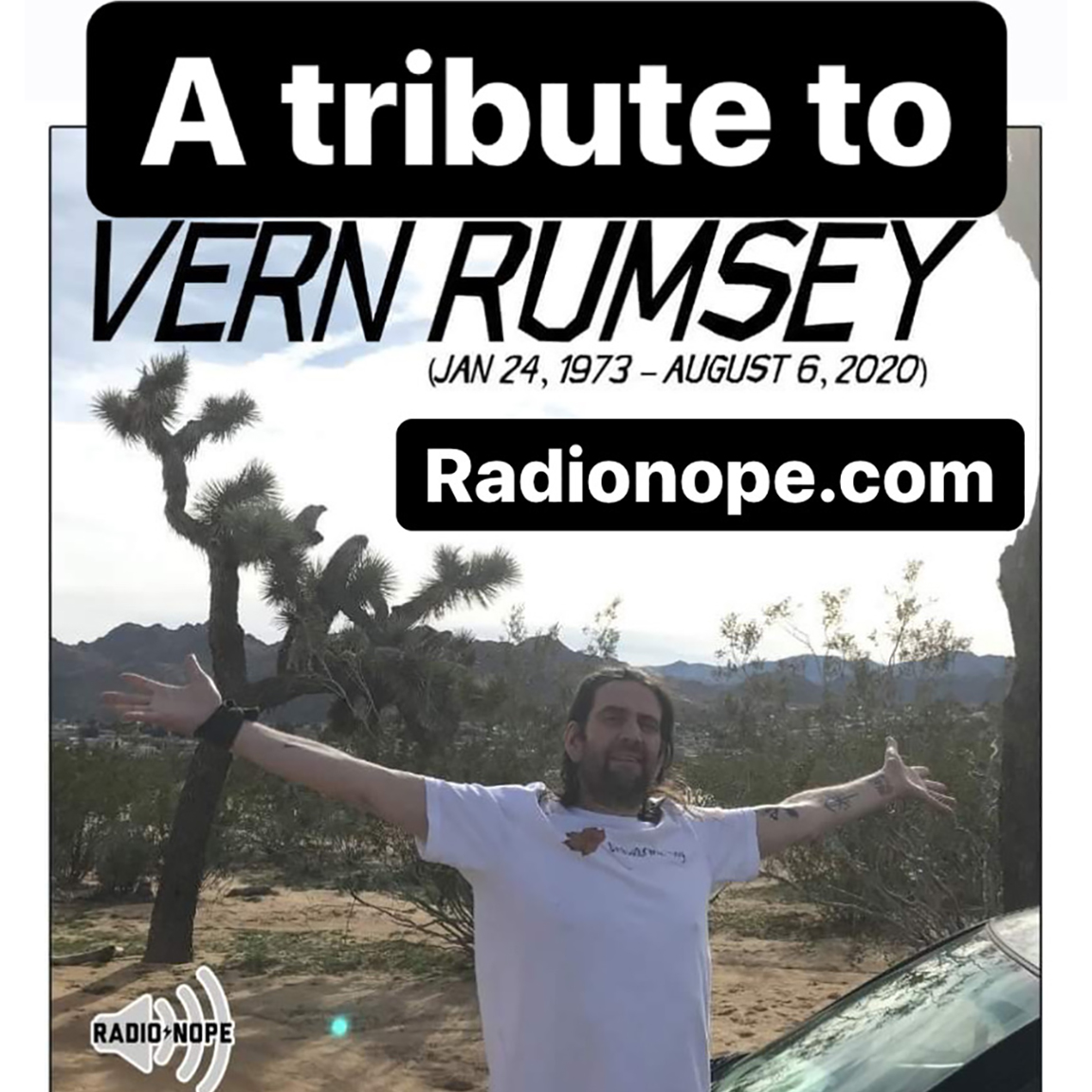 A Tribute to Vern Rumsey (1973-2020)
